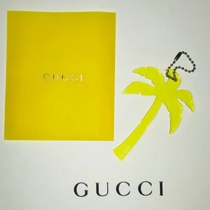 GUCCI PALM TREE KEYCHAIN NEW & AUTHENTIC WITH BOX